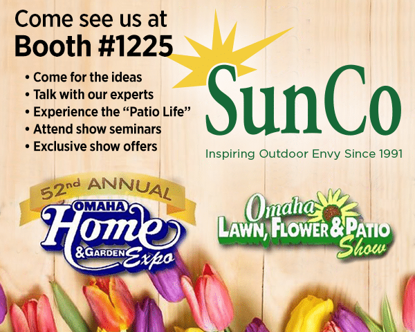 SunCo At Omaha Home U0026 Garden Expo, U201cThe Patio Lifeu201d